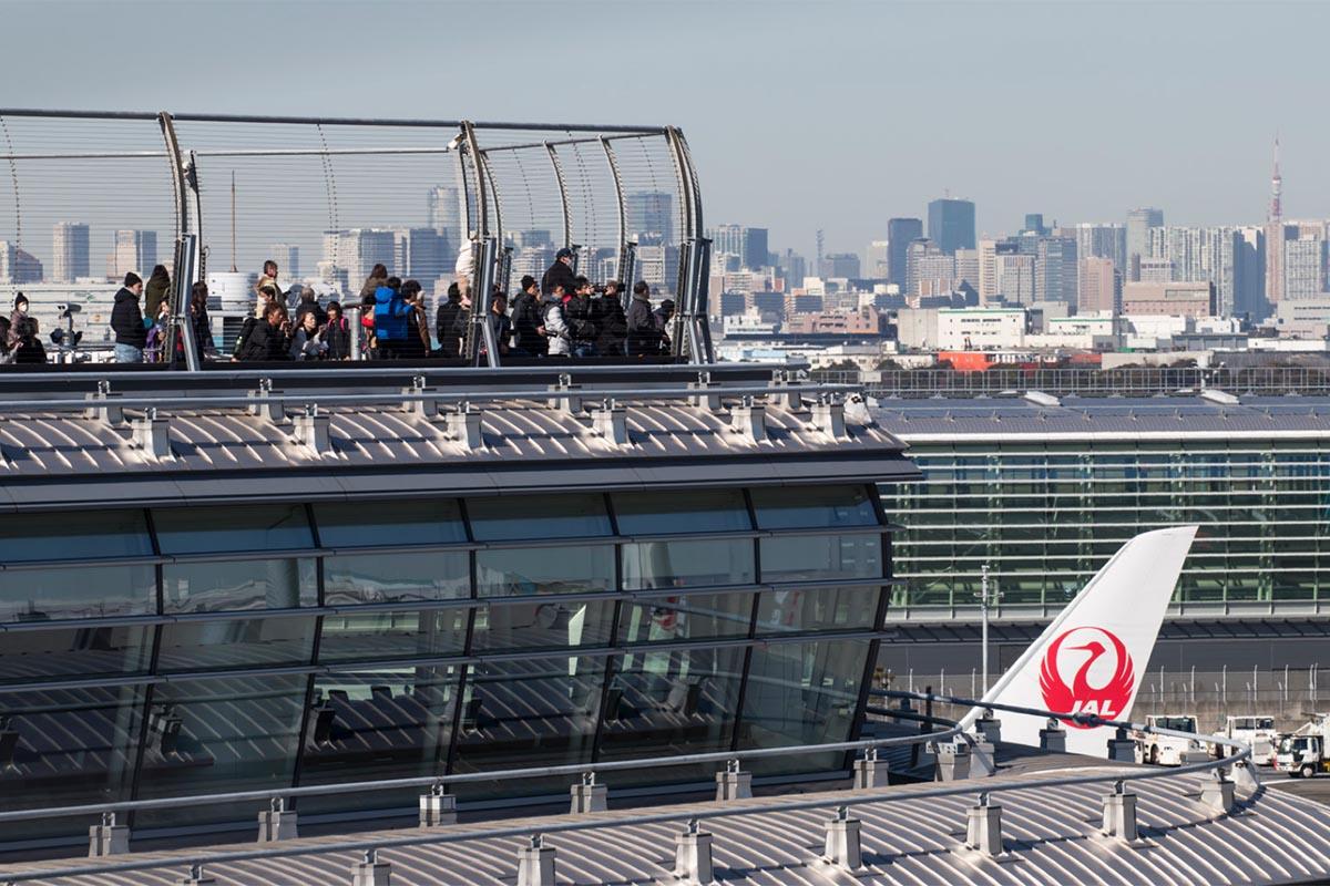 Japanese Airport Observation Decks