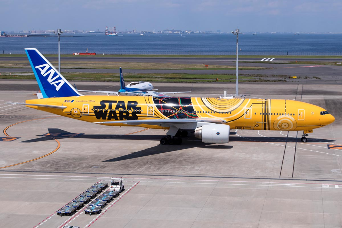 Special Liveries on Aircraft in Japan