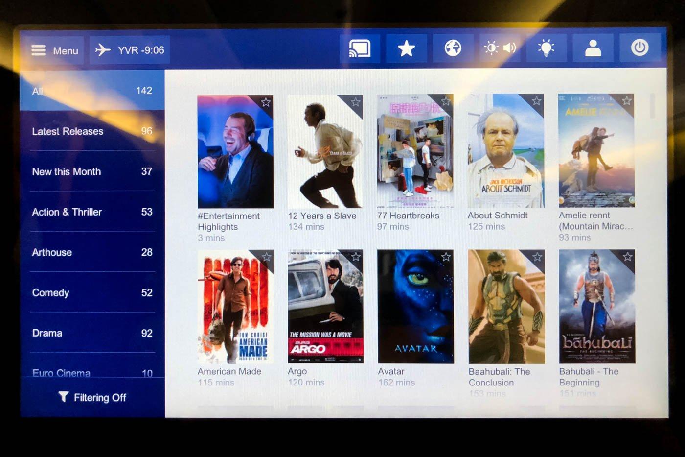 Lufthansa Movies