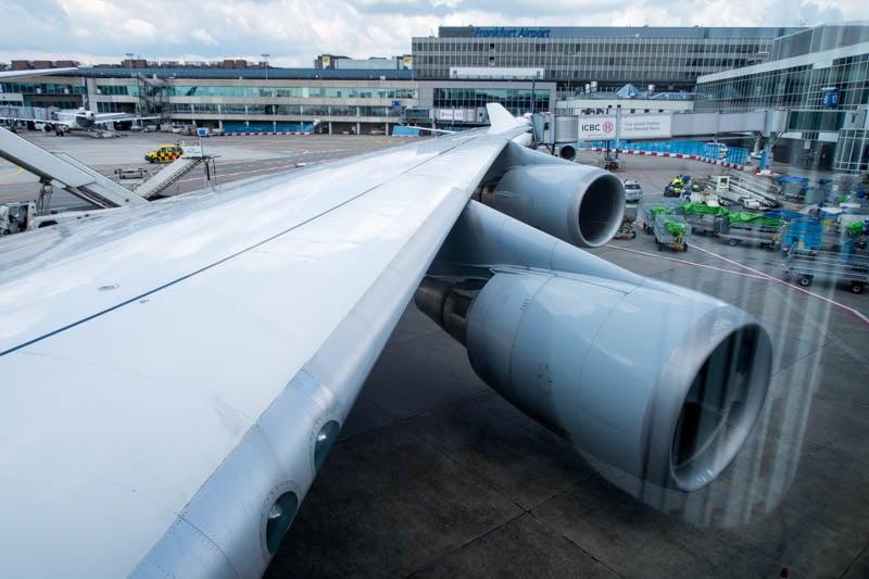 Boeing 747-400 Wing