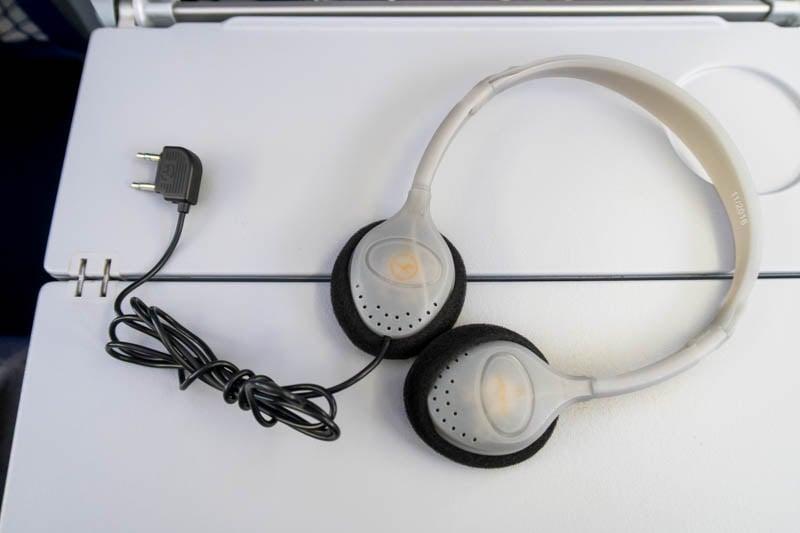 Lufthansa Economy Class Headset