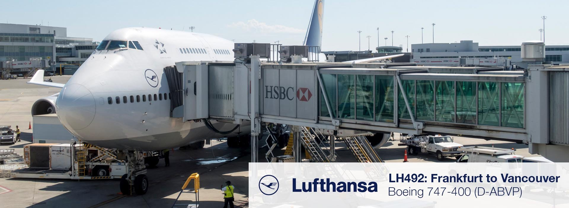 Flight Review: Lufthansa 747-400 Economy Class from Frankfurt to Vancouver
