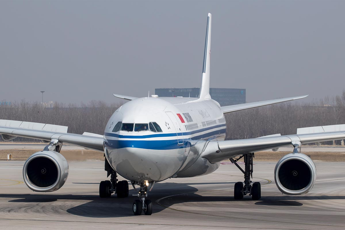 Air China Not Fifth Freedom Flight
