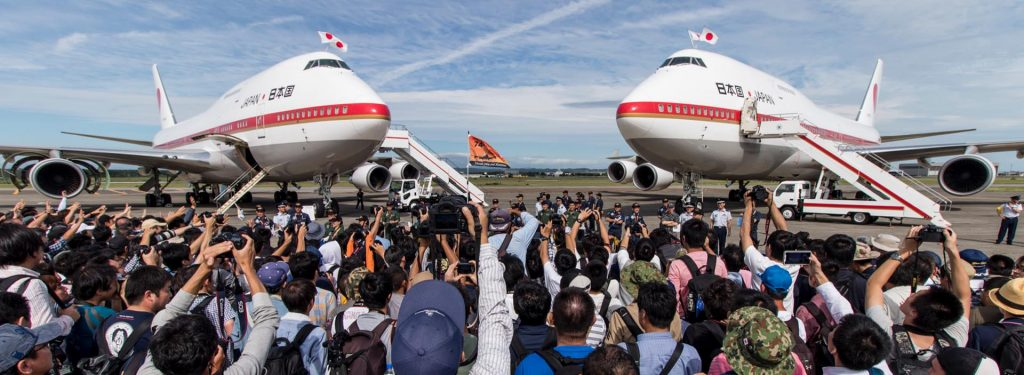 Japan Air Self Defense Force 747's Last Appearance at Chitose Air Festival in 20 Photos