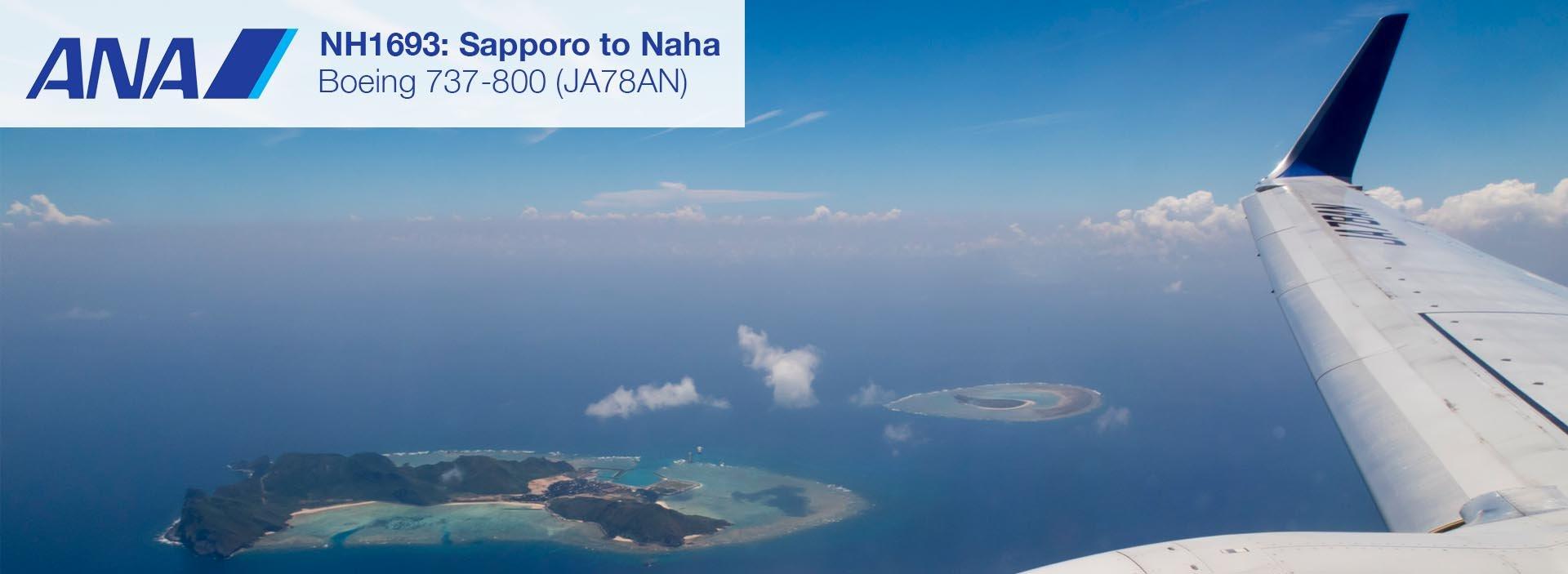 Flight Review: ANA 737-800 Economy Class from Sapporo to Naha Okinawa