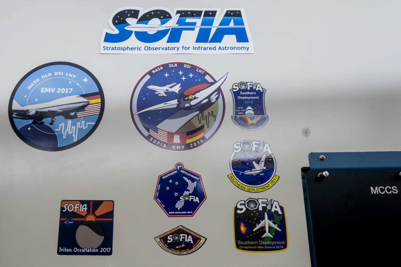 NASA SOFIA Patches
