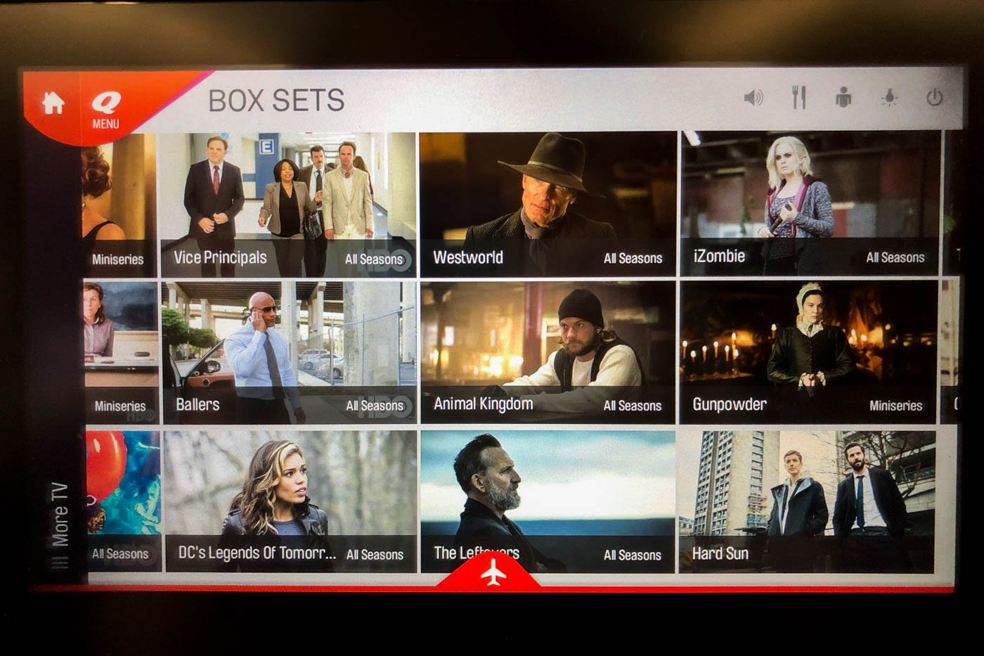 Qantas TV Shows