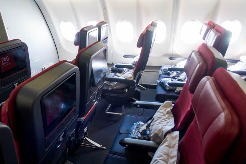 Qantas A330 Economy Class Seats