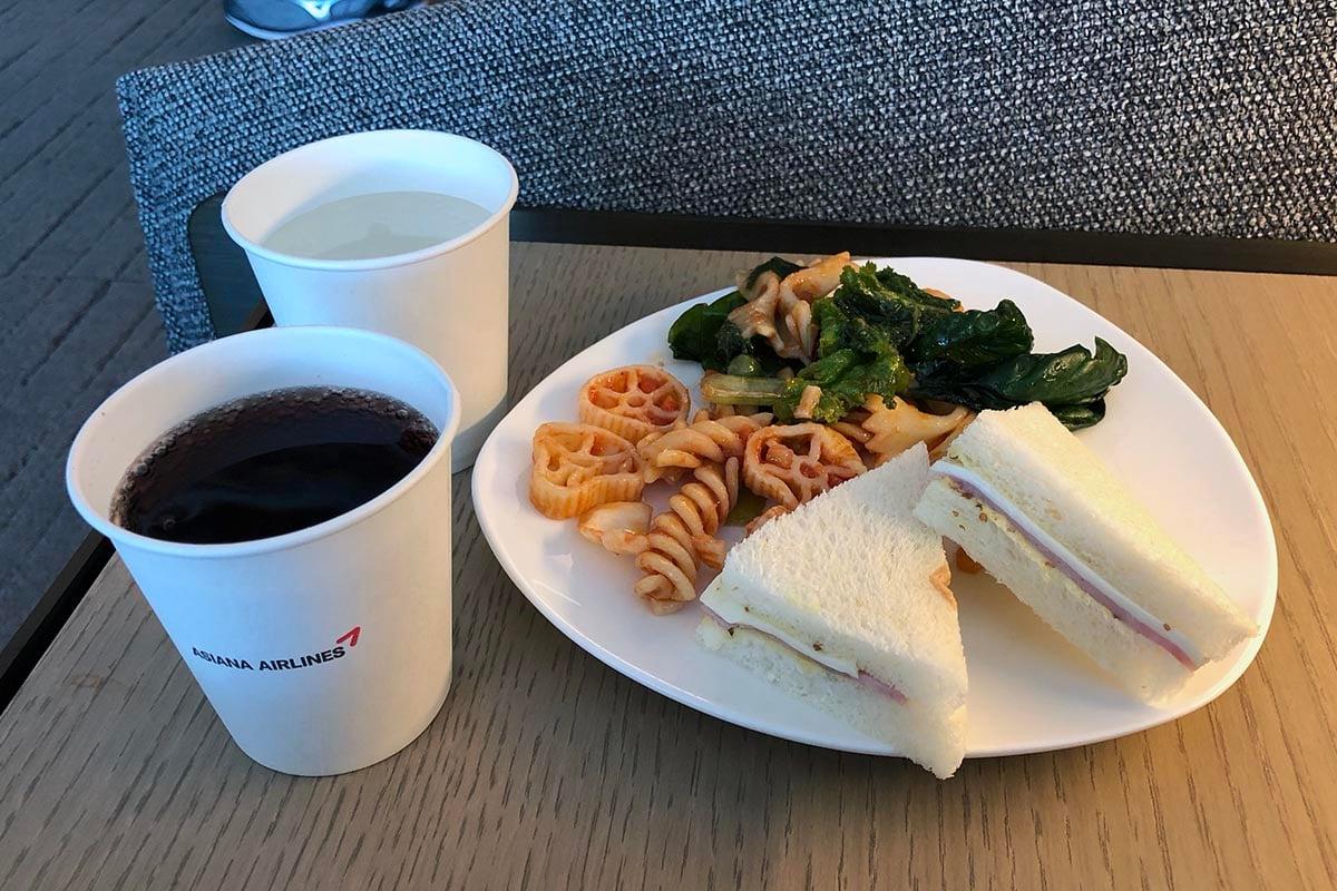 Asiana Lounge Cups