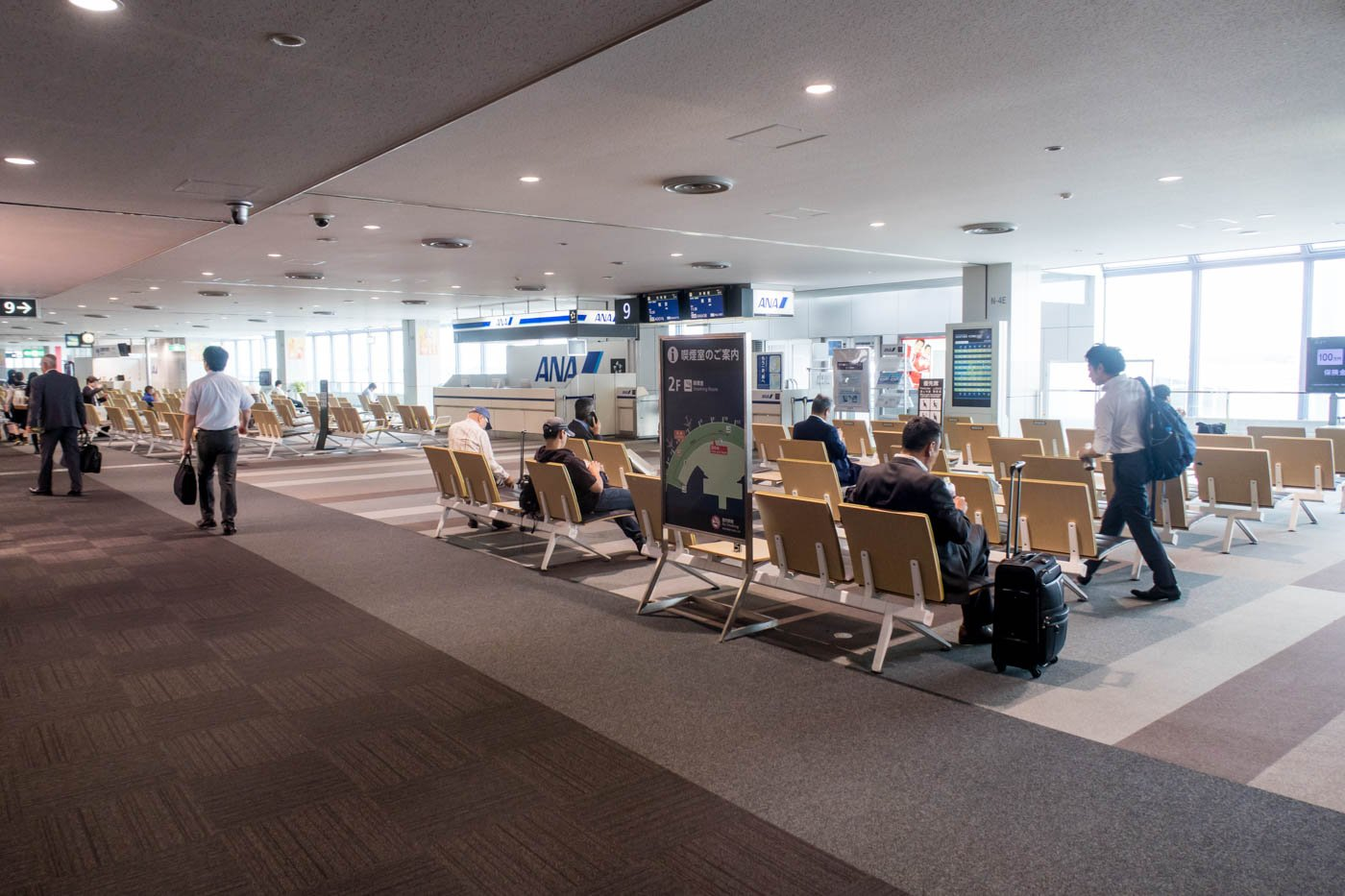 Airside at Sapporo Airport