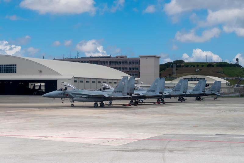 F-15s at Naha Air Base