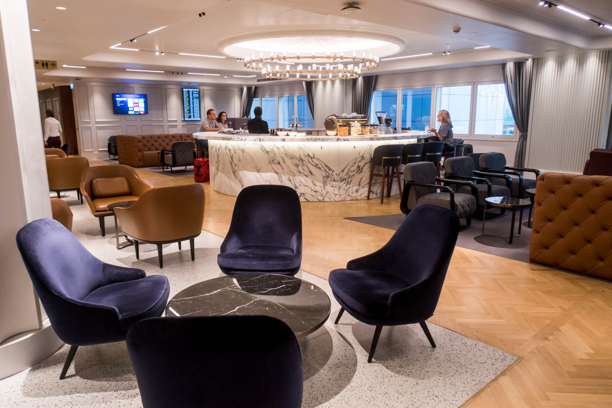 Qantas Lounge London