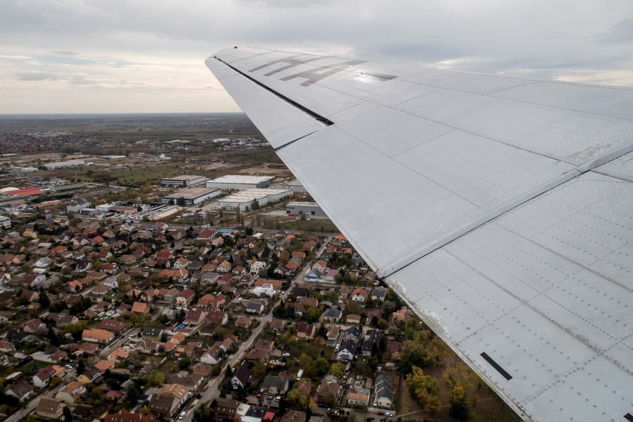 Budapest Suburbs from the Li-2