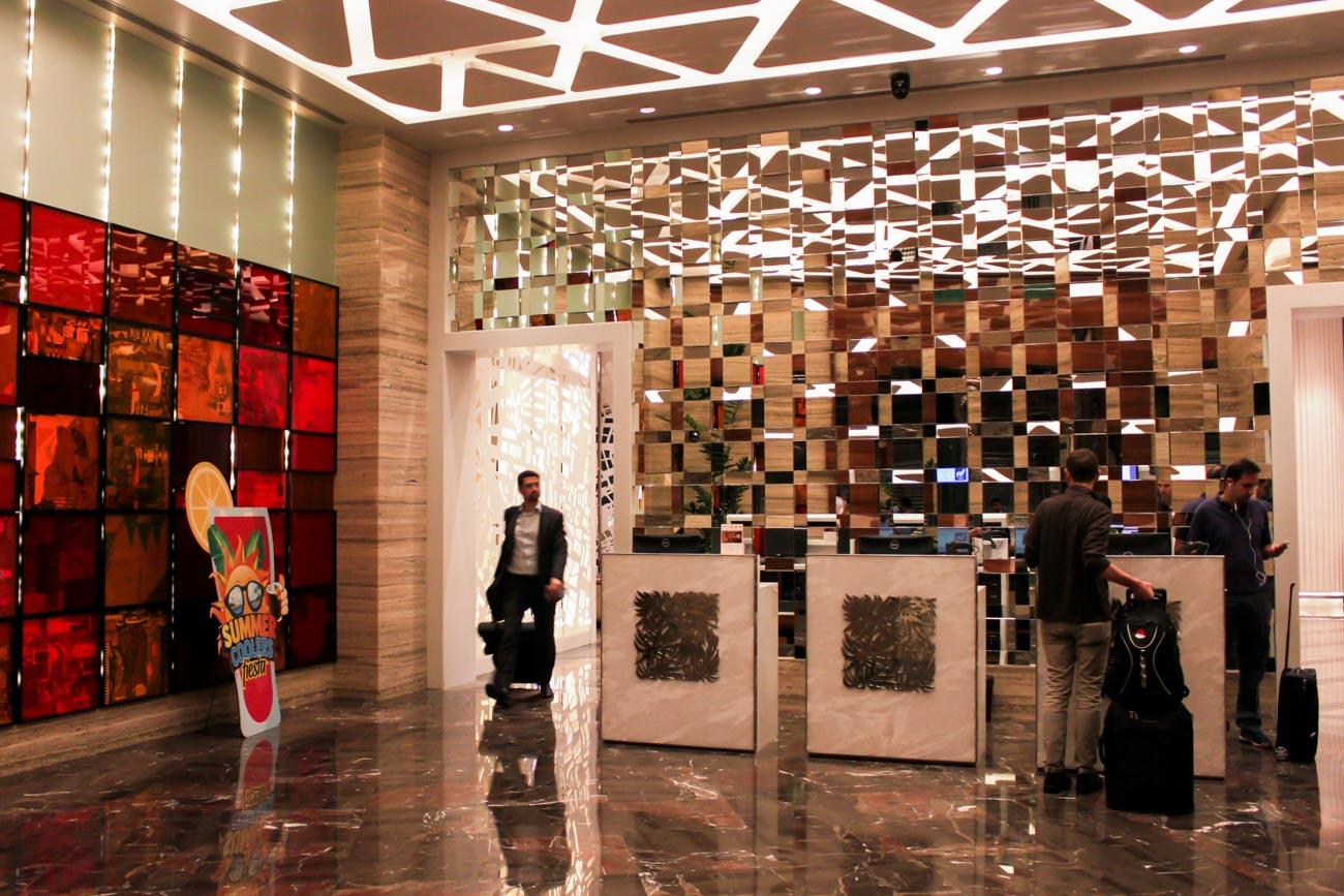 GVK Lounge Mumbai East Wing Reception