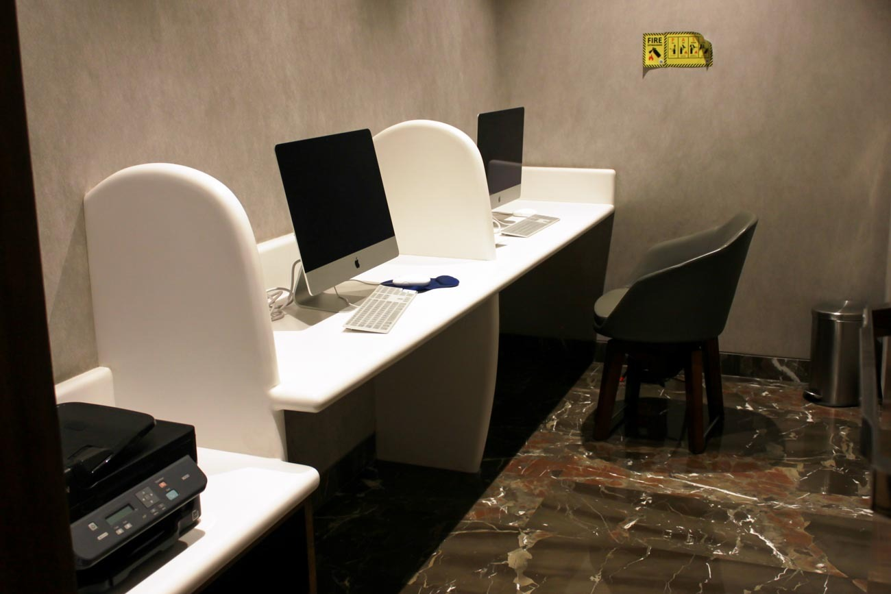 GVK Lounge Mumbai East Wing Business Center