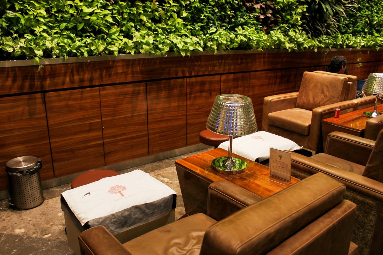 GVK Lounge Mumbai East Wing Massage