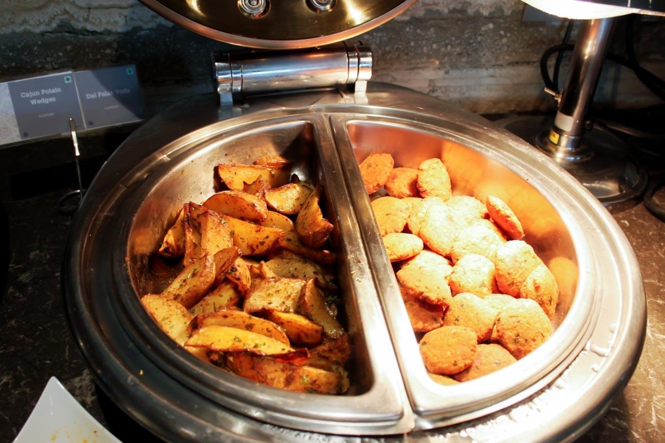 GVK Lounge Mumbai Indian Food