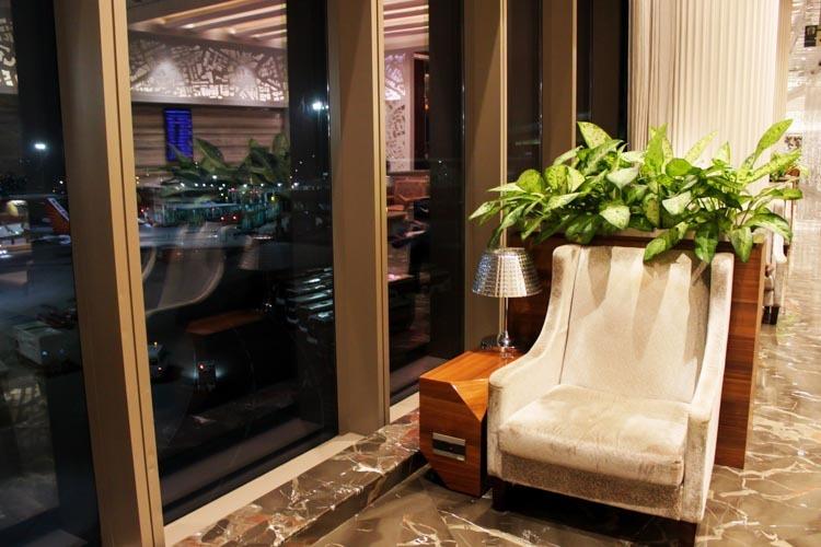 GVK Lounge Mumbai