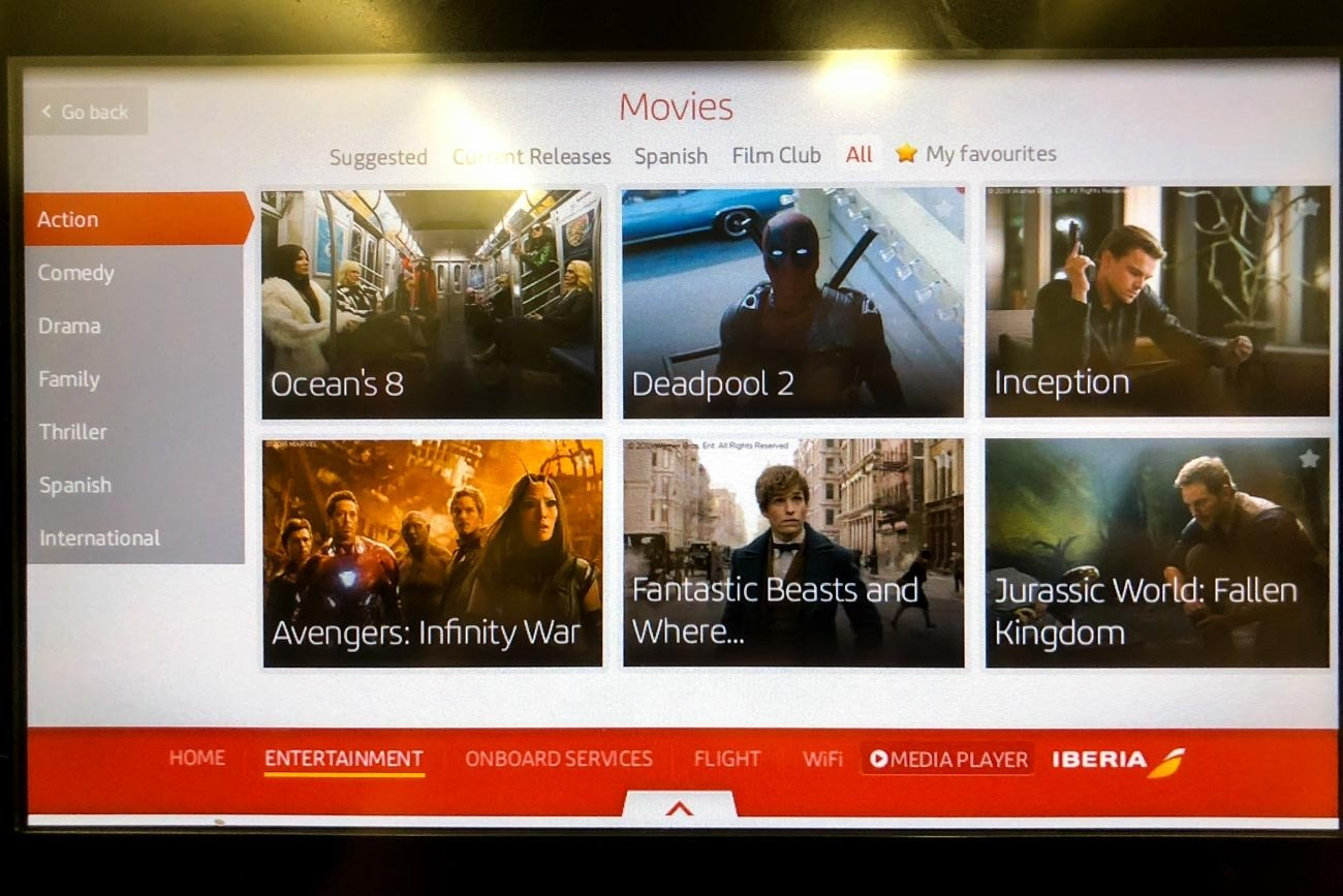 Iberia Movies