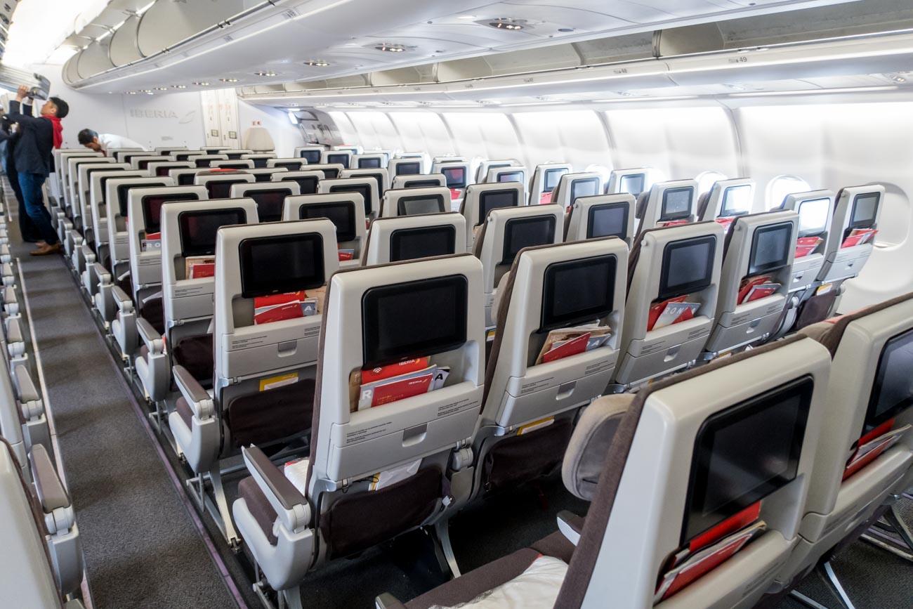 Iberia A330-200 IFE Screens