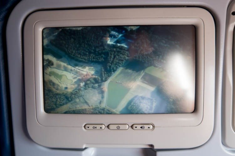 Nose Gear Camera on Aeroflot A330-300