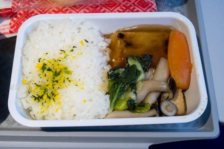 Aeroflot Fish Economy Class Meal