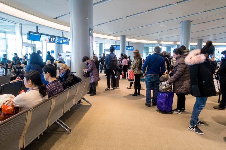 Narita Airport Gate 17