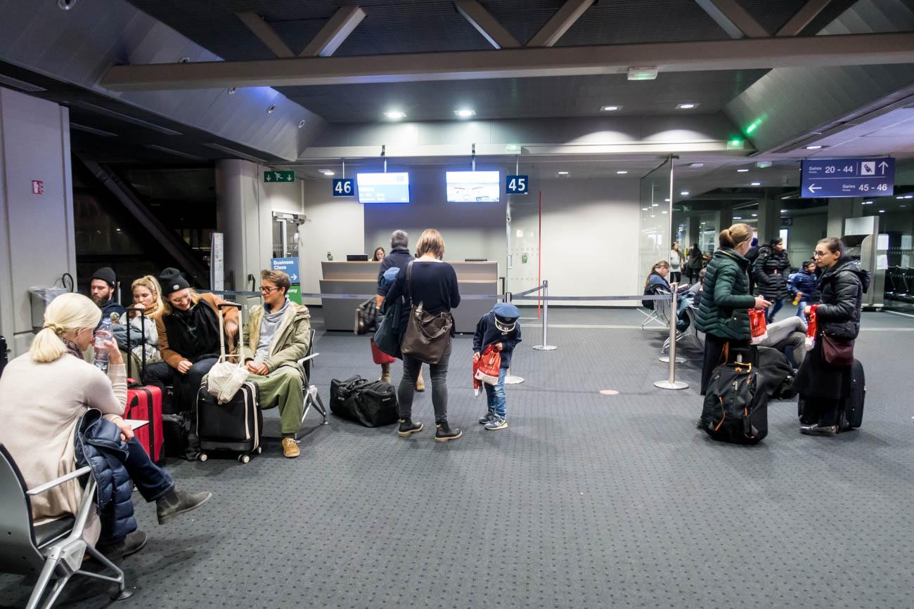 Basel Airport Gate 46