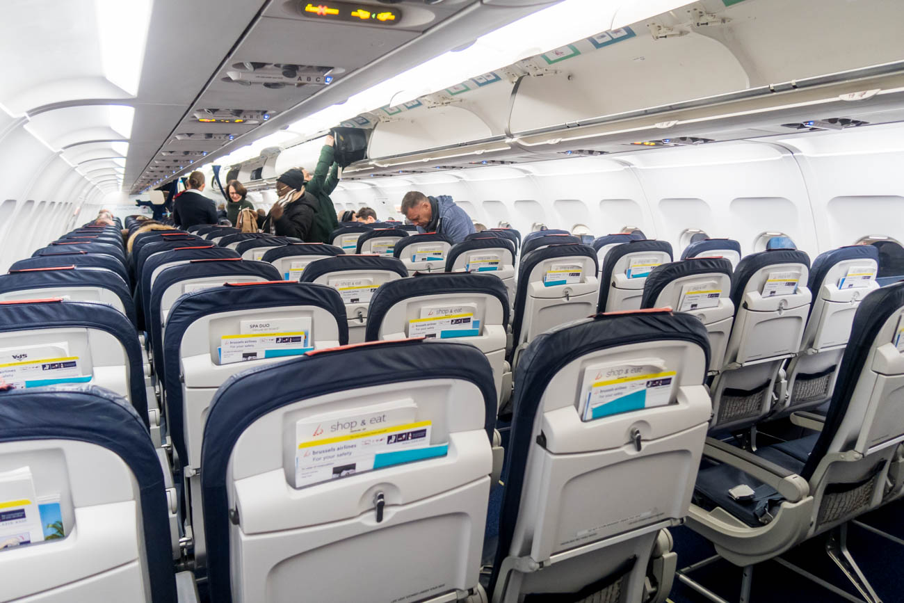 Brussels Airlines A320 Economy Class Seats