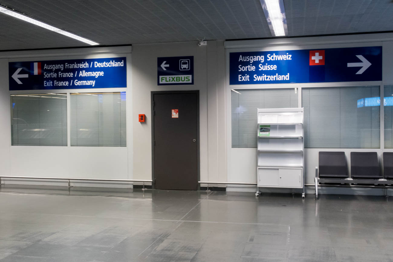 EuroAirport Basel Mulhouse Freiburg Exits