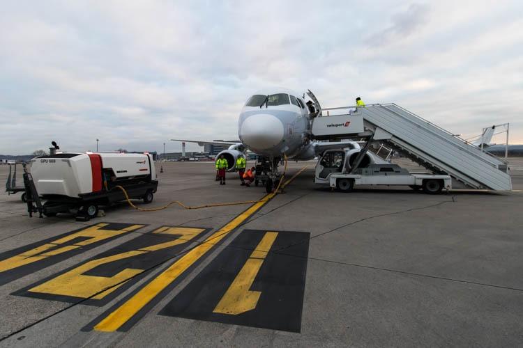 Brussels Airlines Sukhoi Superjet in Basel