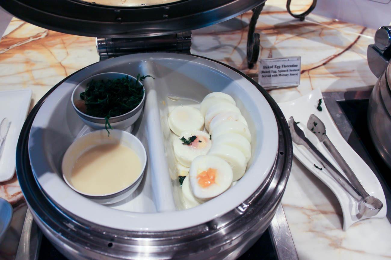 Baked Egg Florentine