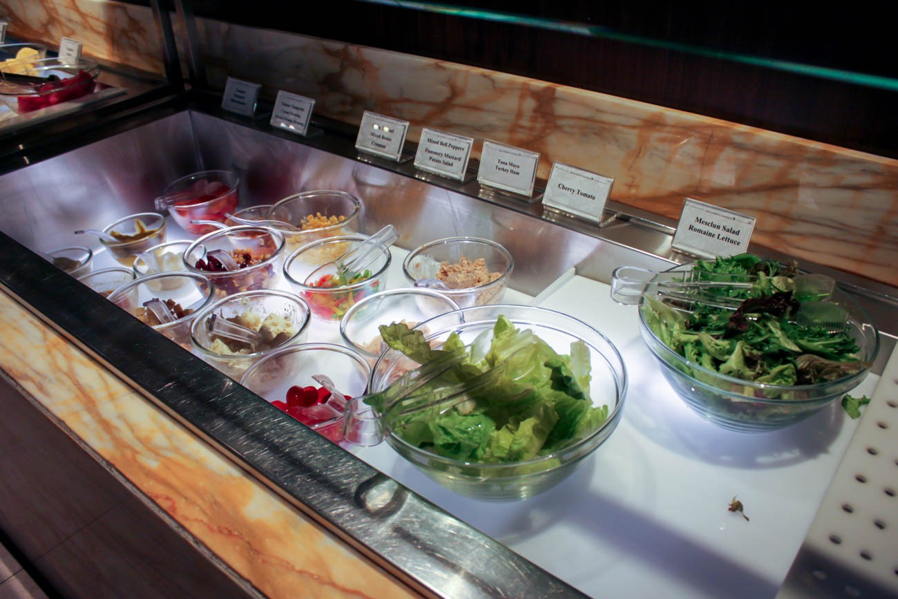 Salad Bar in SilverKris Lounge