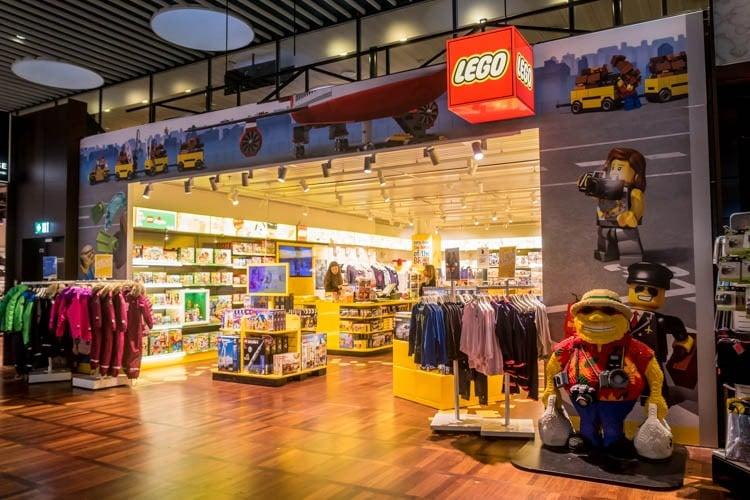 LEGO Store at Copenhagen Airport