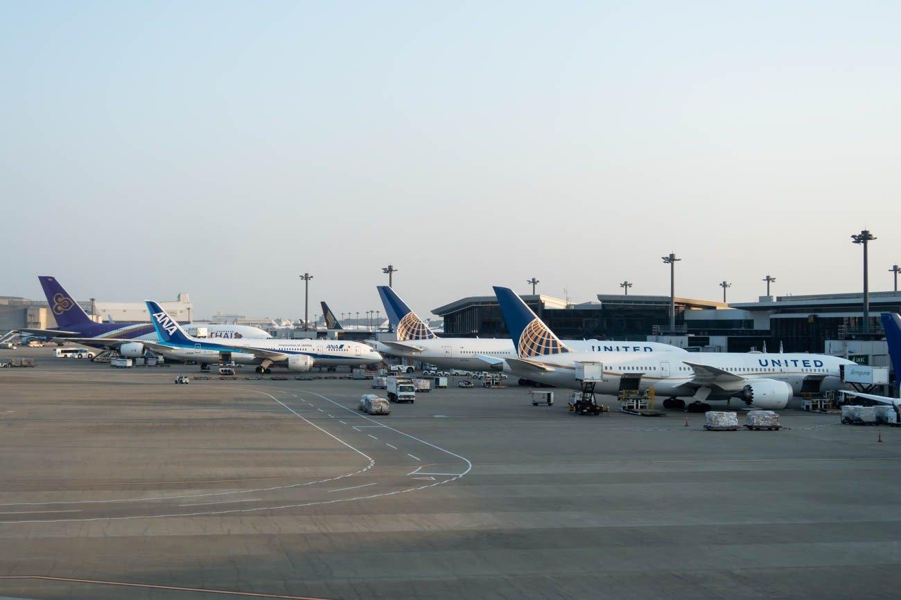 Narita Airport Terminal 1 Star Alliance