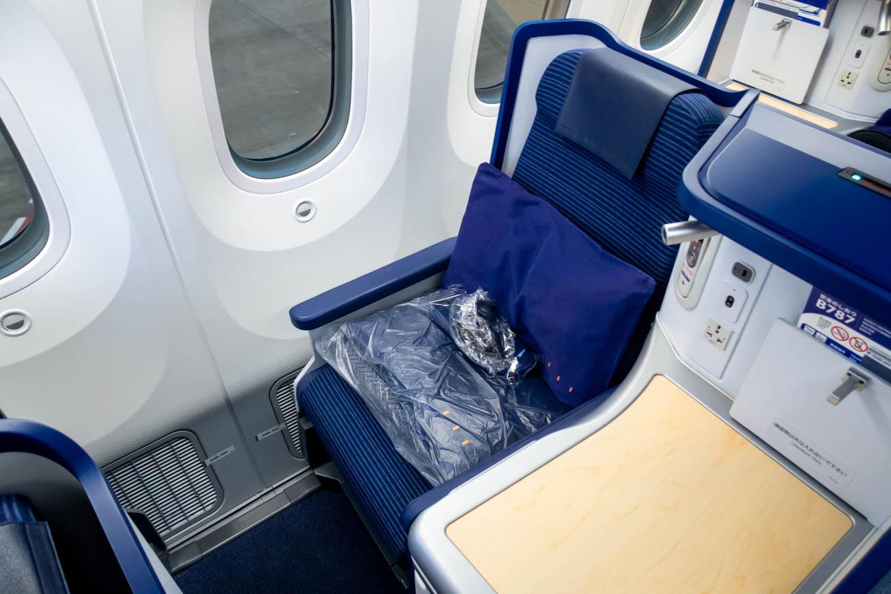 ANA 787-9 Business Class Seat