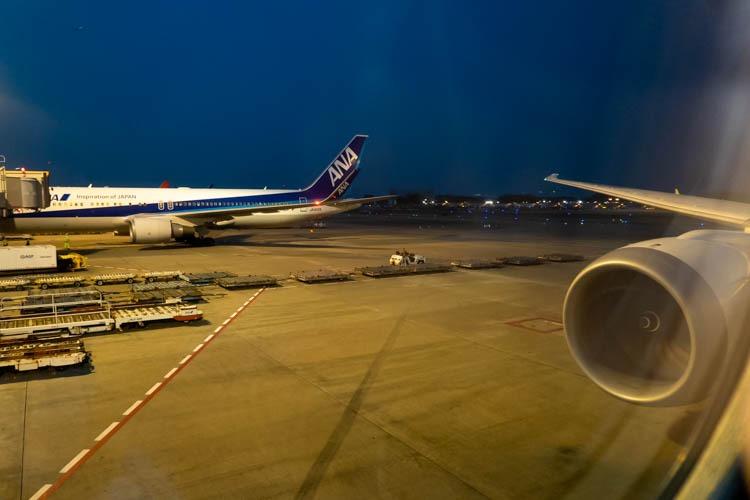 ANA 787-9 Wing