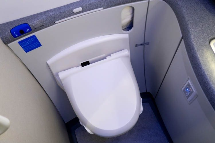 ANA 787-9 Toilet