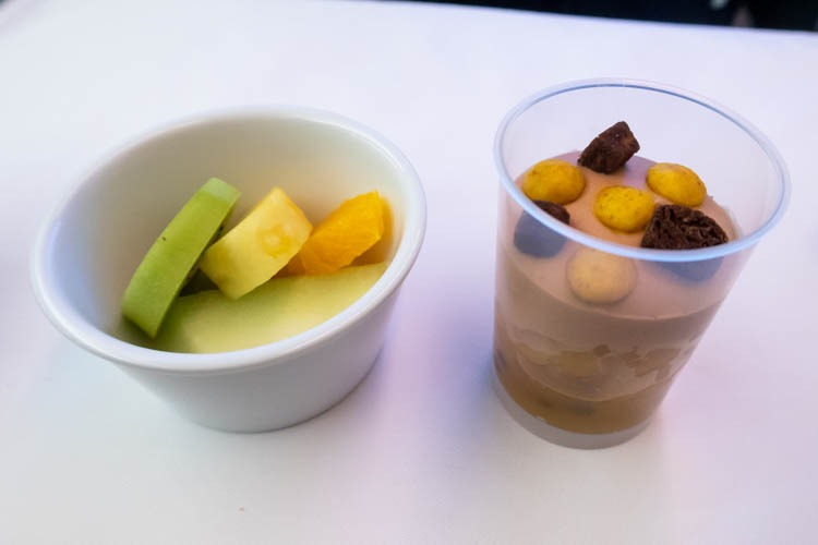 ANA Medium-Haul Business Class Desserts