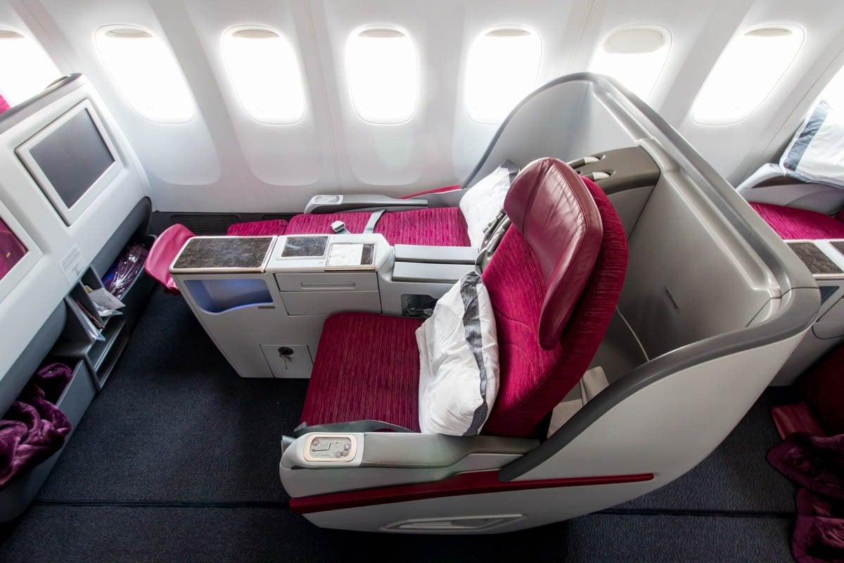 Full-Length Full-Flat Business Class Seat