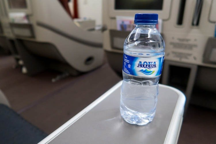 Garuda Indonesia Business Class Water