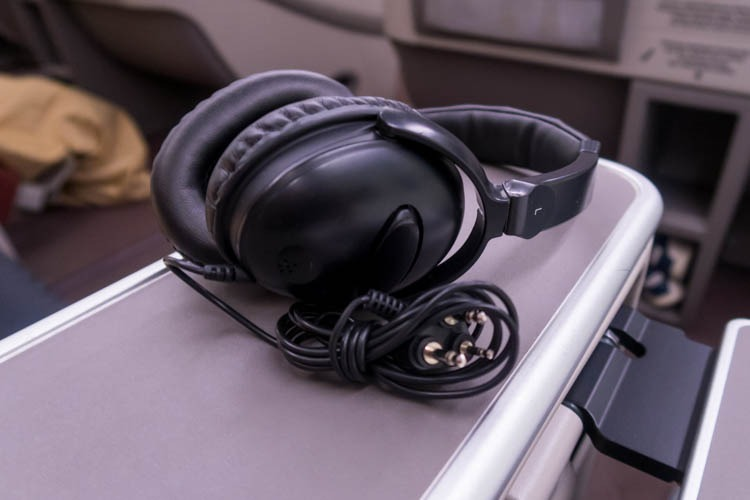 Garuda Indonesia Business Class Noise-Cancelling Headset