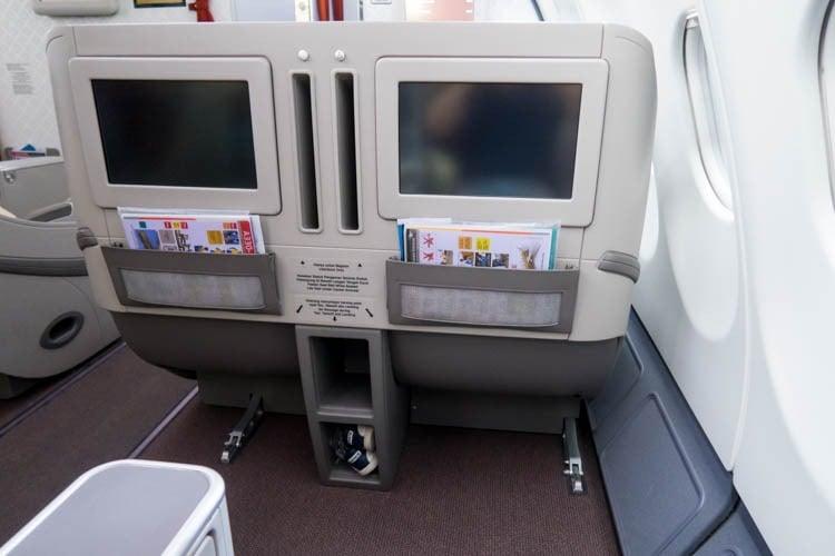 Garuda Indonesia A330-300 Business Class Seats