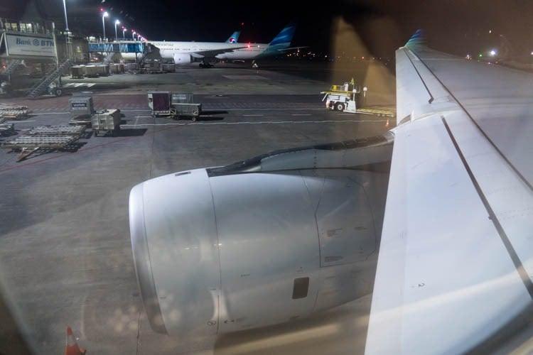 Garuda Indonesia Airbus A330-300 Window View
