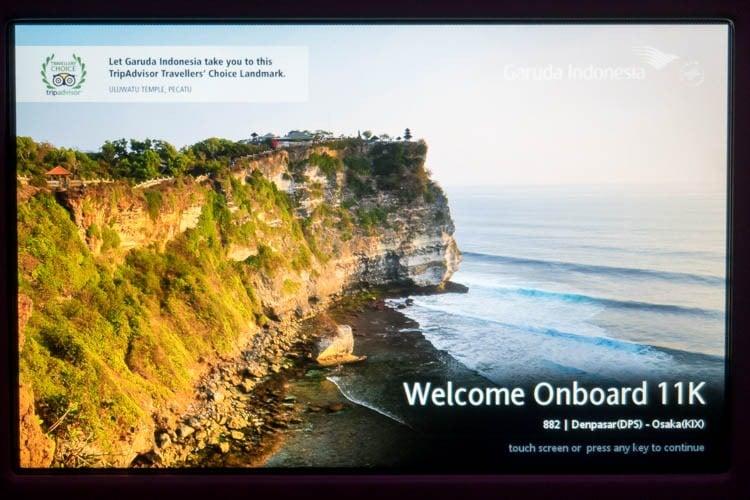 Garuda Indonesia In-Flight Entertainment System