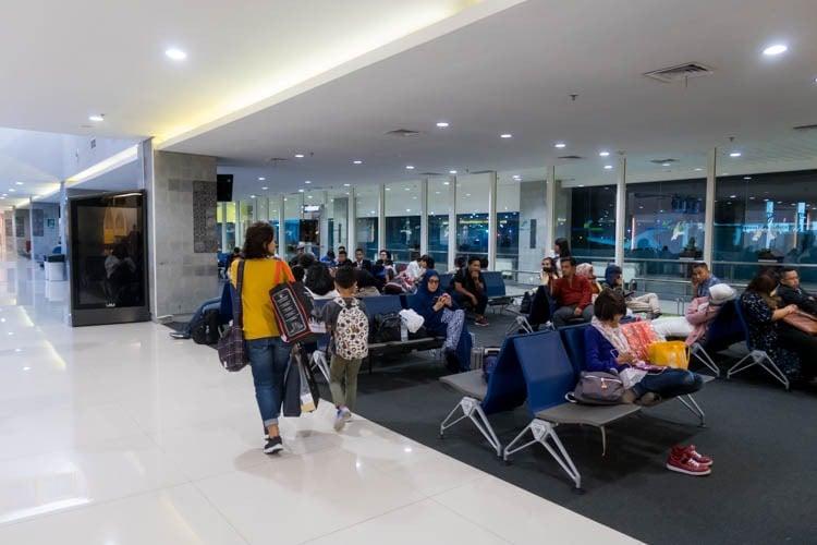 Denpasar Bali Airport International Terminal Gate 1B