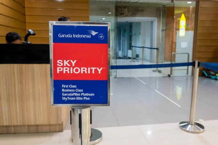 Priority Boarding at Denpasar Airport