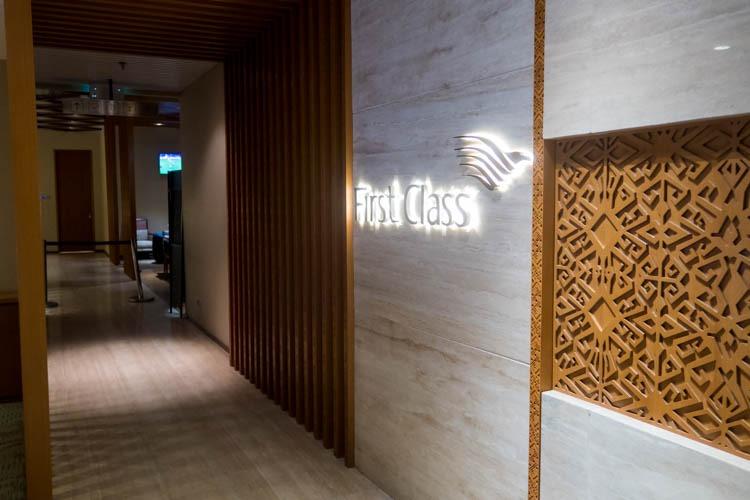 Bali Denpasar Airport Garuda Indonesia First Class Lounge