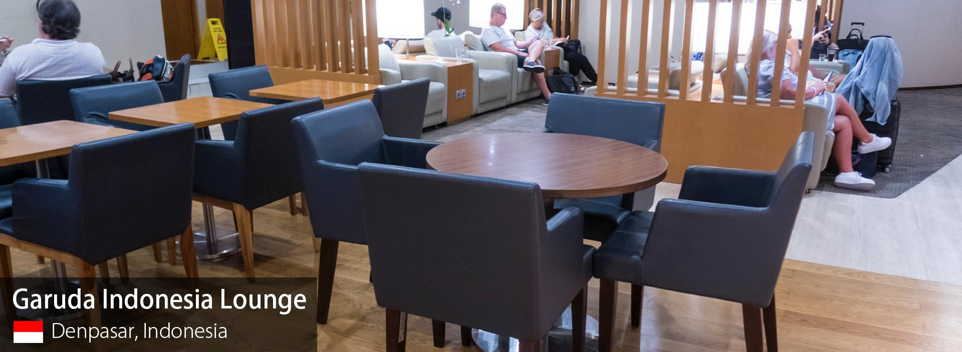 Review: Garuda Indonesia Business Class Lounge at Denpasar Bali Airport