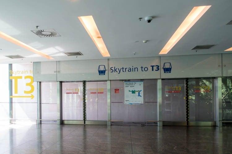 Singapore Changi Airport Skytrain